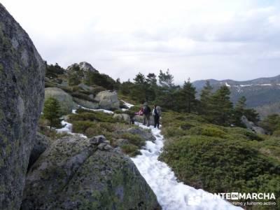 Ruta por el valle de Fuenfría, Siete Picos; las torres de la pedriza; madrid rutas